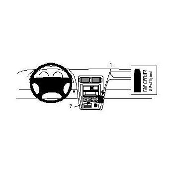 Brodit ProClip montážní konzole pro Mazda 626 98-04, na střed vpravo