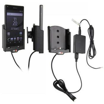 Brodit držák do auta na Sony Xperia Z5 compact bez pouzdra, se skrytým nabíjením