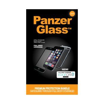 PanzerGlass ochranné sklo Bundle pro Apple iPhone 6/6s, displej + tělo, černé