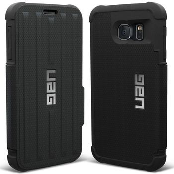 UAG flipový ochranný kryt folio case pro Samsung Galaxy S6, černý