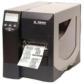 Tiskárna čárového kódu Zebra ZM400, 300dpi, 104mm, Termotisk & Termotransfer ZM400-300E-5000T