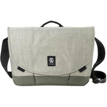"""Crumpler Private Surprise Slim L nylonová taška 15.4"""" - šedá"""