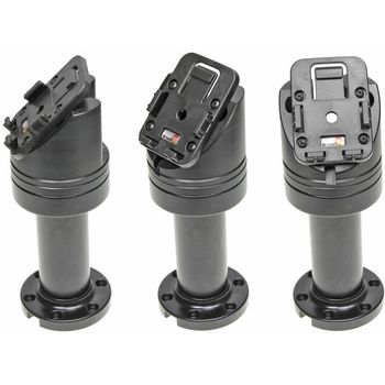 Brodit sestava otočného montážního podstavce a MultiMove clipu, výška 165 mm, sklon 45°, černý, (215631)