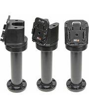 Brodit sestava otočného montážního podstavce a MultiMove clipu, výška 215 mm, sklon 75°, černý, (215639)