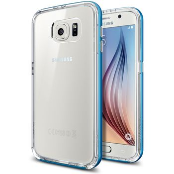 Spigen pouzdro Neo Hybrid CC pro Samsung Galaxy S6, modrá