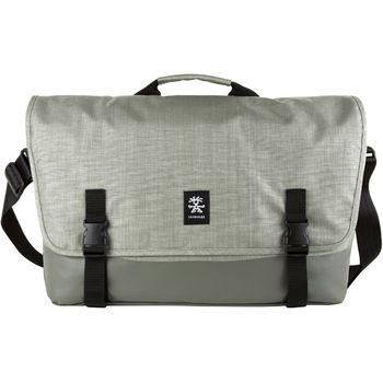 """Crumpler Private Surprise XL nylonová taška 17.3"""" - šedá"""