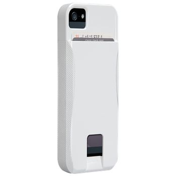 Case Mate Pop ID Case pro Apple iPhone 5 White