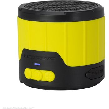 Scosche reproduktor boomBottle mini, žlutý