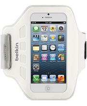 Belkin sportovní pouzdro EaseFit na ruku pro Apple iPhone 5, bílá (F8W105vfC05)