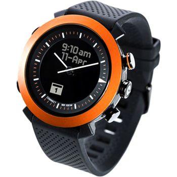 COGITOwatch 2.0 Classic Clockwork Orange bluetooth hodinky, černooranžové, rozbaleno