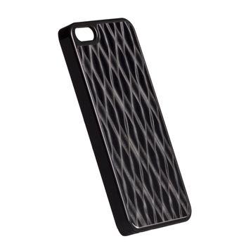 Krusell hard case - AluCover - Apple iPhone 5 (černé vlny)