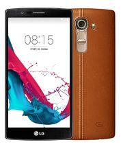 LG G4 H815 (leather brown), hnědá
