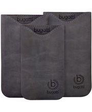 Bugatti Skinny Universal leather case XL - šedivé
