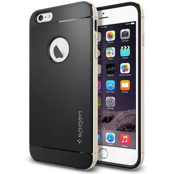 Spigen pouzdro Neo Hybrid Metal pro Apple iPhone 6 Plus, zlatá