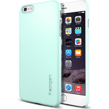 Spigen pouzdro Thin Fit pro Apple iPhone 6 Plus, zelená