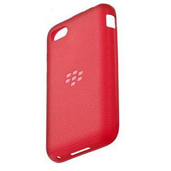 BlackBerry měkký kryt pro Q5, červená