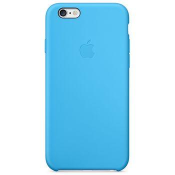 Apple silikonový kryt pro iPhone 6/6S, modrá