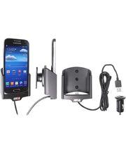 Brodit držák do auta na Samsung Galaxy S4 Mini bez pouzdra, s nabíjením z cig. zapalovače/USB