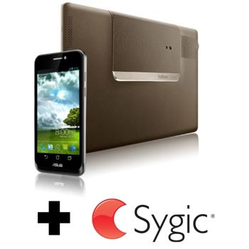 Asus Padfone + Sygic offline navigace ZDARMA