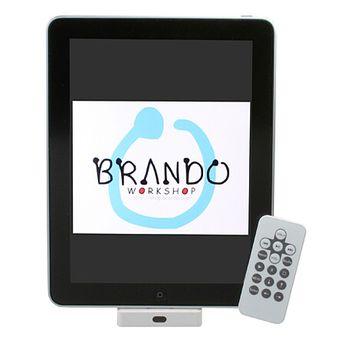 Kolébka Brando s AV výstupem a dálkovým ovladačem - iPad/iPhone/iPod