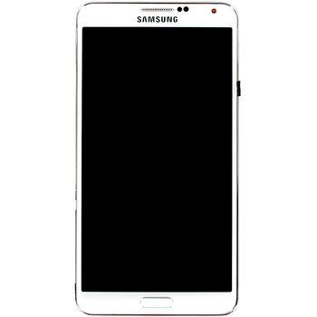 Náhradní díl LCD displej + dotyk + přední kryt pro Samsung N9005 Galaxy Note 3, bílý