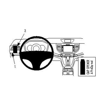 Brodit ProClip montážní konzole pro Honda CR-V 12-16, vlevo na sloupek