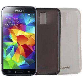 Jekod TPU silikonový kryt pro Samsung Galaxy S5, černá