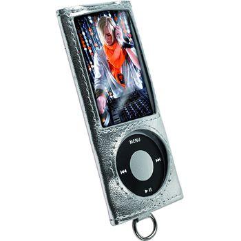 Krusell pouzdro Encore - Apple iPod Nano 5G - stříbrná