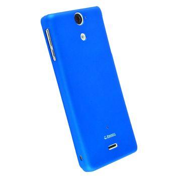 Krusell pouzdro ColorCover - Sony Xperia V (modrá)