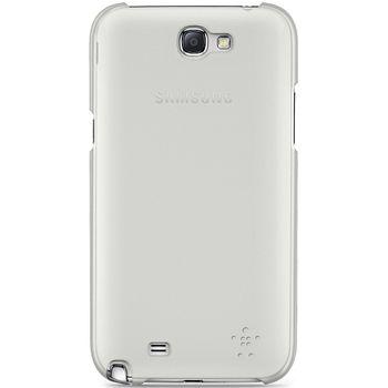 Belkin Shield Sheer pevné ochranné pouzdro pro Galaxy Note II, bílá (F8M505vfC01)