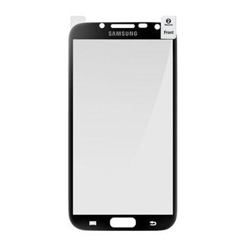 Samsung ochranná fólie s černým rámečkem ETC-G1J9B pro Galaxy Note II