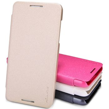 Nillkin Sparkle Folio Pouzdro Gold pro HTC Desire 610
