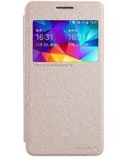 Nillkin flipové pouzdro Sparkle S-View pro Samsung G530 Galaxy Grand Prime, zlaté