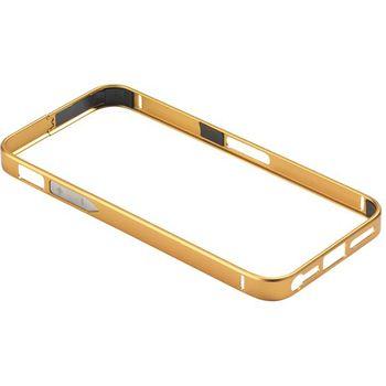 PanzerGlass ochranný hliníkový rámeček pro Apple iPhone 5/5s, zlatý